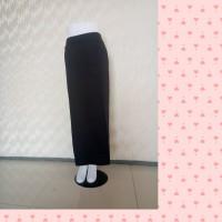 rok kerja / rok span/ rok panjang hitam