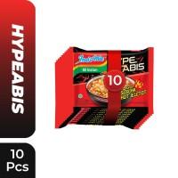 10 Pcs - Indomie HypeAbis Rasa Seblak Hot Jeletot