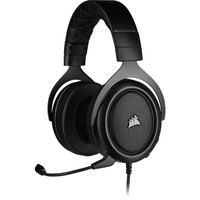 Corsair HS50 PRO Stereo Gaming Headset (Carbon/Green/Blue)