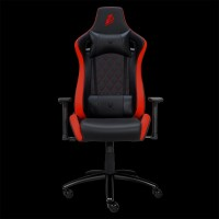 1STPLAYER GAMING CHAIR DK1 - BLACK RED - Comfort - All Steel Skeleton - High Density Molded Foam