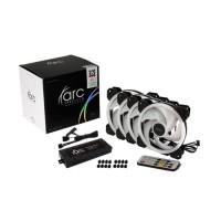 Tecware Arc Spectrum F3 Starter Kit (4 Pcs 120mm Fan + Controller Hub)