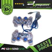 Gamepad Double Getar Transparan - Made In China