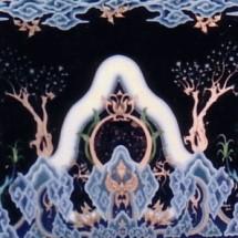 lukisan kaca kaligrafi