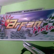 arfan moto racing