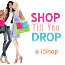 """iShop """"Shop TILL U Drop"""""""