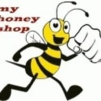 Logo my honey shop