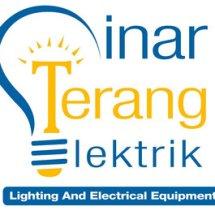 Logo sinar terang elektronik