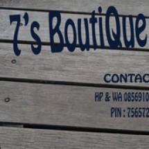 7's boutique