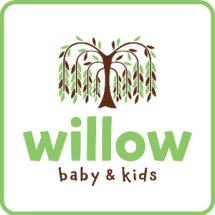 Logo willow baby shop