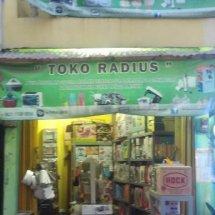 Logo Toko Radius