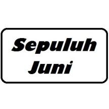Logo Sepuluh Juni