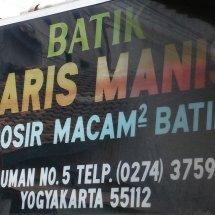 Laris Manis Yogyakarta
