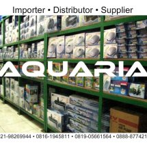 Logo Aquaria Shop.