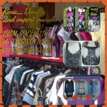 baju 2nd import