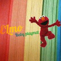 Elmo baby playmat