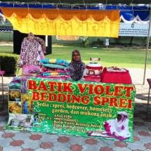 Batik Violet Bedding