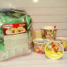 bahan es cream murah