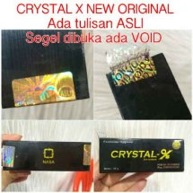 Penjual Crystal X