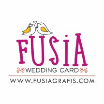 FUSIA WEDDING CARD