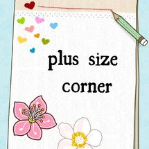 plus size corner