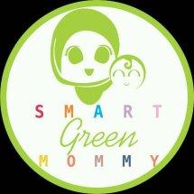 Logo smart green mommy