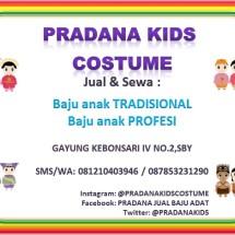 Pradana Kids Costume