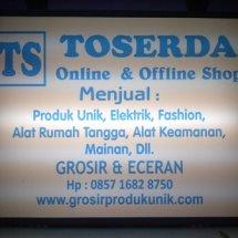 Logo TOSERDA - Toko Serba Ada