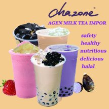 Logo chazone milk tea