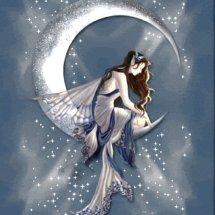 Silver Moon Angel