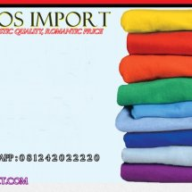 kaos polos import