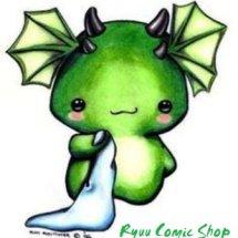 Logo Toko Komik Ryuu