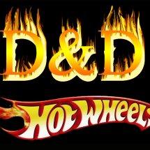 D&D hotwheels