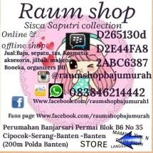 Raum Shop bajumurah