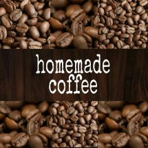 Logo homemade coffee