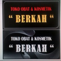 Logo Obat & Kosmetik Berkah
