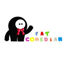 Logo Fat Comedian Shop