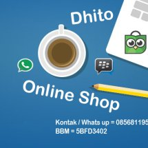 Logo Dhito Online Shop