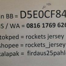 Rocket's Jersey