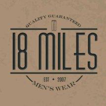 18 miles Logo