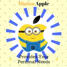 Logo Minion Apple