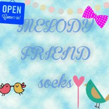melody friend socks