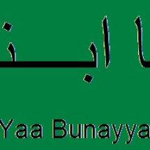 Yaa Bunayya