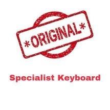 Logo Specialist Keyboard