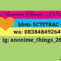 anonime things