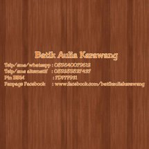 Batik Aulia Karawang