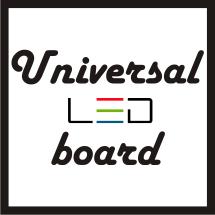 universal led board
