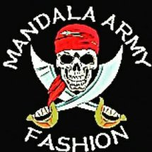 Mandala Army Fashion