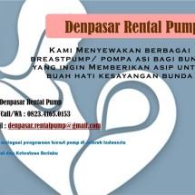 Denpasar Rental Pump