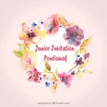 Junior Invitation Card