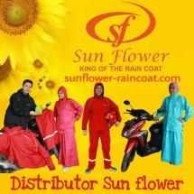 Sunflower raincoat